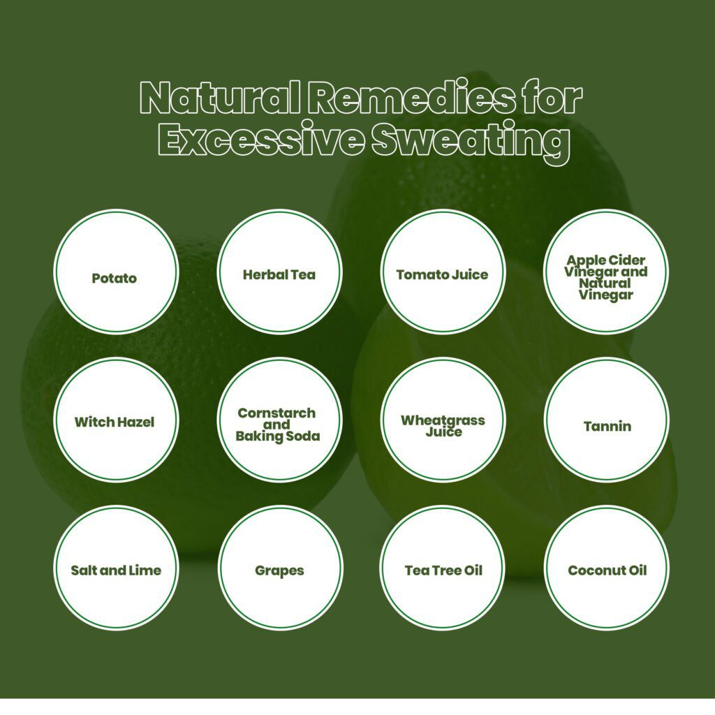 Natural Remedies for Excessive Sweating