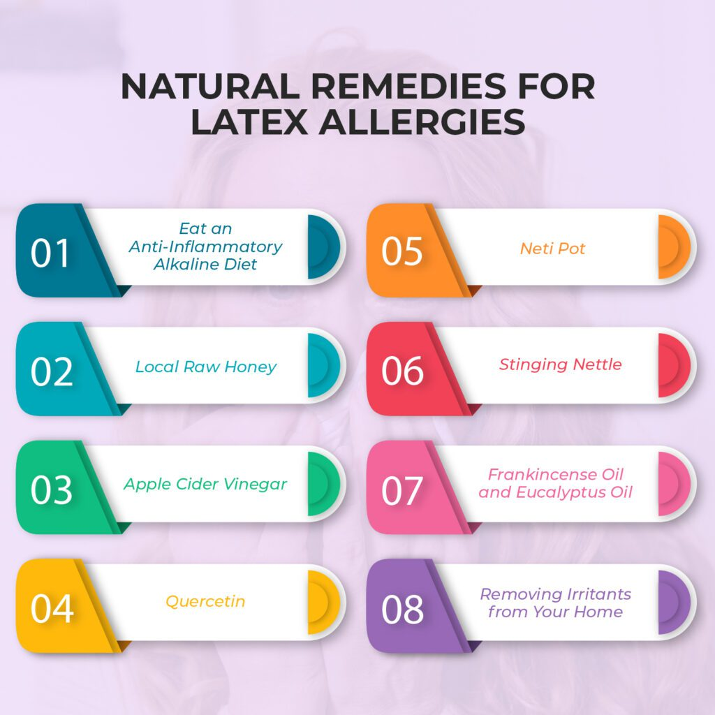 8 Natural Remedies for Latex Allergy