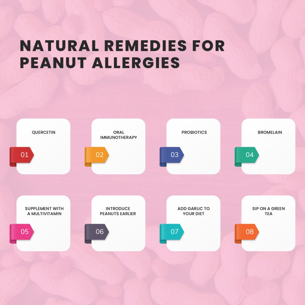 8 Natural Remedies for Peanut Allergies